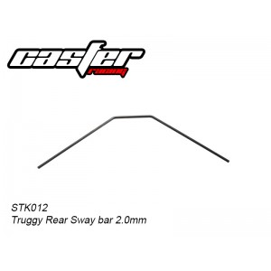 STK012 Truggy Rear Sway bar 2.0mm