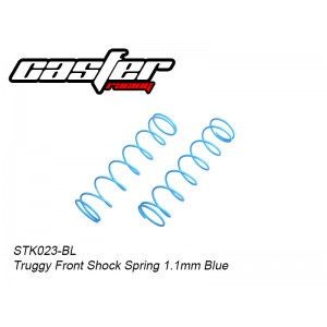 STK023-BL      Truggy Front Shock Spring 1.1mm Blue