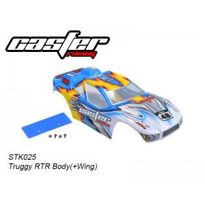 STK025 Truggy RTR Body(+Wing)