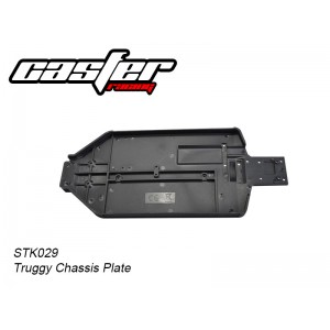 STK029 Truggy Chassis Plate
