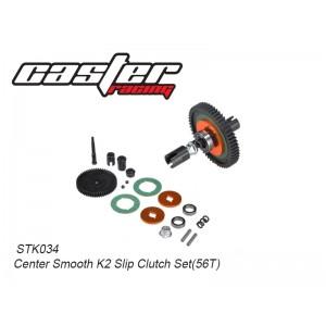STK034 Center Smooth K2 Slip Clutch Set(56T)