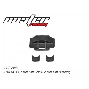 SCT-005  1/10 SCT Center Diff Cap+Center Diff Bushing