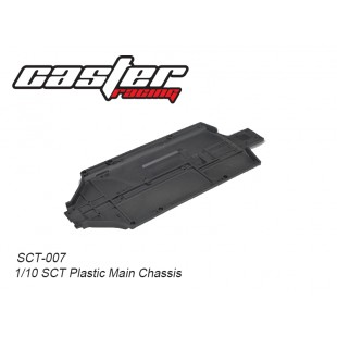 SCT-007  1/10 SCT Plastic Main Chassis