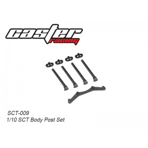 SCT-009  1/10 SCT Body Post Set