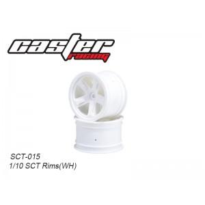 SCT-015  1/10 SCT Rims (WH)