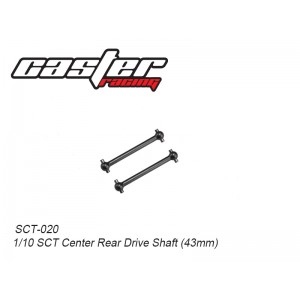 SCT-020  1/10 SCT Center Rear Drive Shaft (43mm)