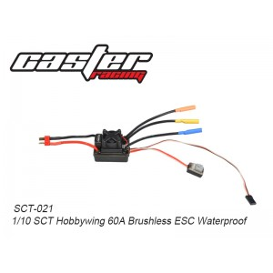 SCT-021  1/10 SCT Hobbywing 60A Brushless ESC Waterproof