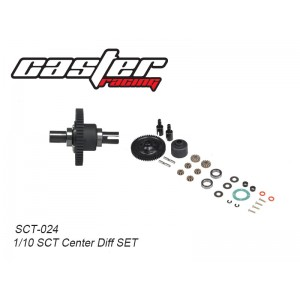 SCT-024  1/10 SCT Center Diff SET