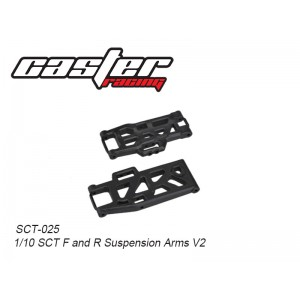 SCT-025  1/10 SCT F&R Suspension Arms V2