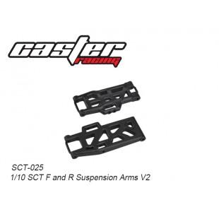SCT-025  1/10 SCT F&R Suspension Arms V2