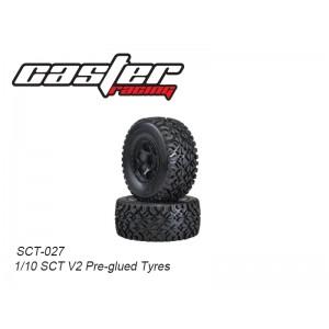 SCT-027  1/10 SCT V2 Pre-glued Tyres