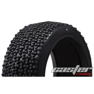 CR5-003-A27F  1/8 Buggy Racing Tires X Soft-A27 with Foam
