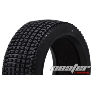 CR5-004-P27F  1/8 Buggy Racing Tires X Soft-P27 with Foam