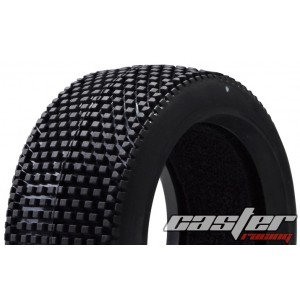 CR5-005-P27F  1/8 Buggy Racing Tires X Soft-P27 with Foam