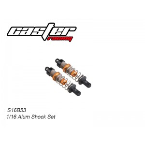 S16B053 1/16 Alum Shock Set