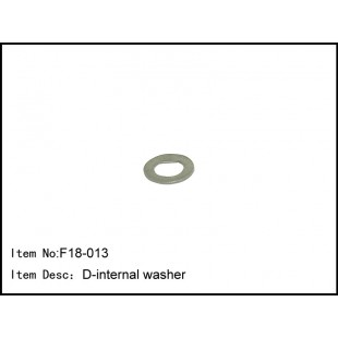 F18-013  D-internal washer