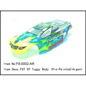 F8-0002-AR  F8T EP Tuggy Body (Pre-Painted)Argent