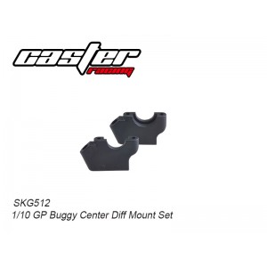SKG512 1/10 GP Buggy Center Diff Mount Set