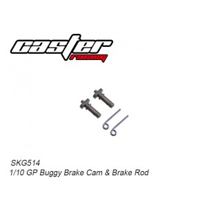 SKG514  1/10 GP Buggy Brake Cam& Brake Rod