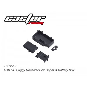 SKG519 1/10 GP Buggy Receive box upper & Battery Box