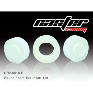 CR2-0010-R  Round Foam Tire Insert 2pc