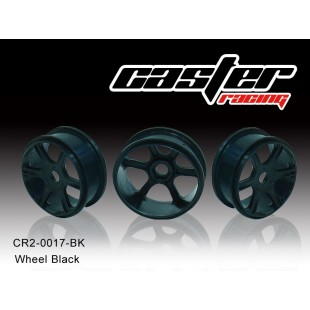 CR2-0017-BK  Wheel Black