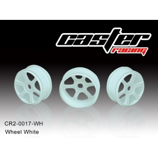 CR2-0017-WH  Wheel White