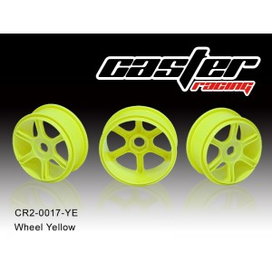 CR2-0017-YE  Wheel Yellow