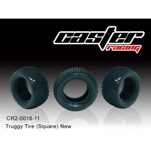 CR2-0018-11  Truggy Tire (Square) New