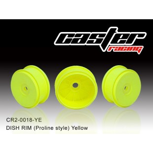 CR2-0018-YE  DISH RIM (Proline style) Yellow