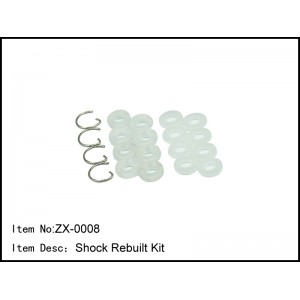 ZX-0008   Shock Rebuilt Kit