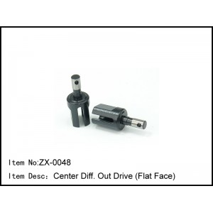 ZX-0048  Center Diff. Out Drive (Flat Face)
