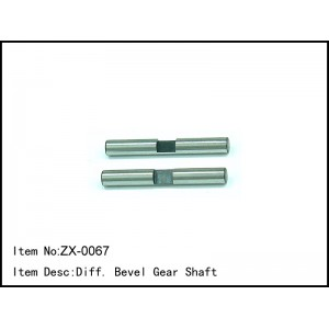 ZX-0067  Diff. Bevel Gear Shaft