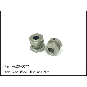 ZX-0077  Wheel Hub and Nut