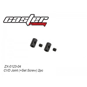 ZX-0123-04  CVD Joint (+Set Screw)  2pc