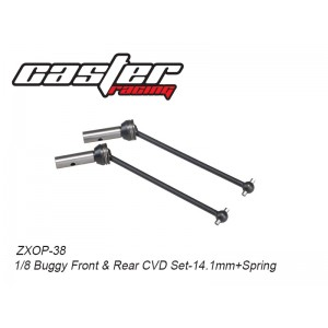 ZXOP-38  1/8 Buggy Front&Rear  CVD Set-14.1mm+Spring