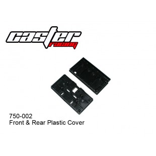 750-002 Front & Rear Plastic Cover