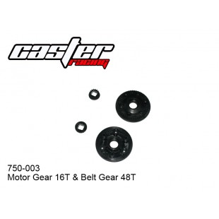 750-003 Front & Rear Plastic Cover