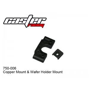 750-006  Copper Mount &  Wafer Holder Mount