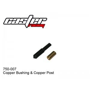 750-007  Copper Bushing & Copper Post