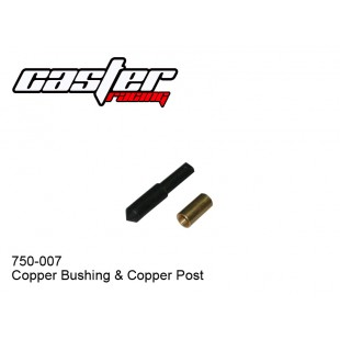 750-007  Copper Bushing & Copper Post