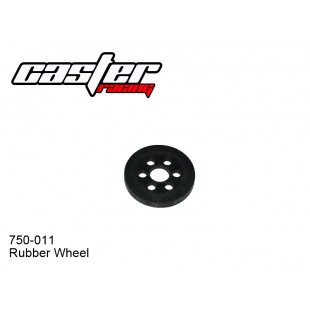 750-011 Rubber Wheel