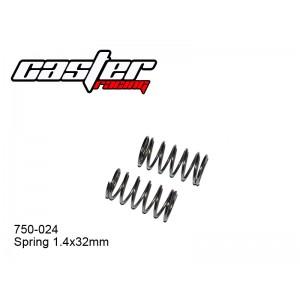 750-024  Spring 1.4x32mm