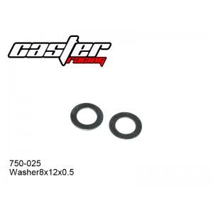 750-025 Washer 8x12x0.5