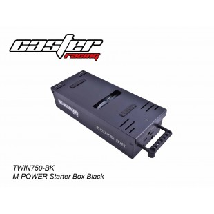 TWIN750-BK  M-POWER Starter Box Black