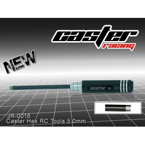 JR-0016  Caster Hex RC Tools 5.0mm