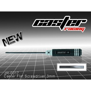 JR-0017  Caster Flat Screwdriver 3mm