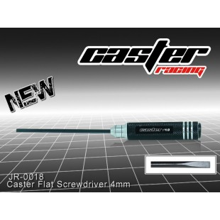 JR-0018  Caster Flat Screwdriver 4mm