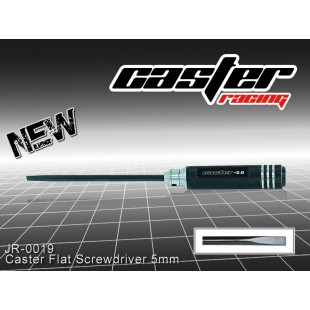 JR-0019  Caster Flat Screwdriver 5mm