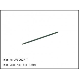 JR-0027-T  Hex Tip 1.5mm